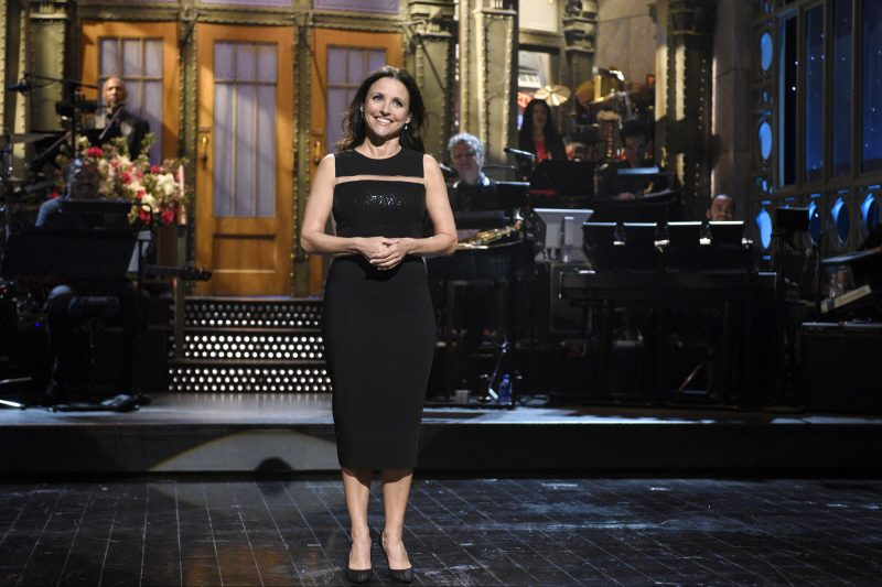 Julia Louis-Dreyfus on 'SNL' in 2016