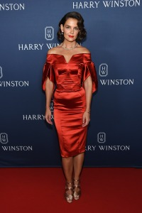 "Katie Holmes attends the ""New York Collection"" by Harry Winston"