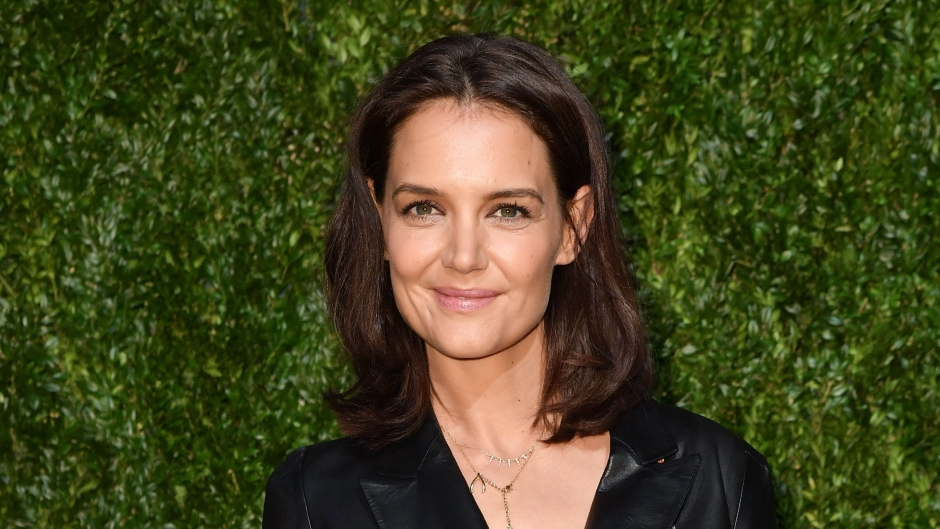Katie Holmes seen leaving the 14th Annual Tribeca Film Festival Artist Dinner hosted by Chanel