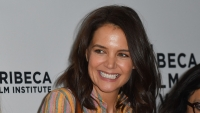 Katie Holmes attends the 'AT&T presents: Untold Stories Luncheon' ahead of the 2019 Tribeca Film Festival