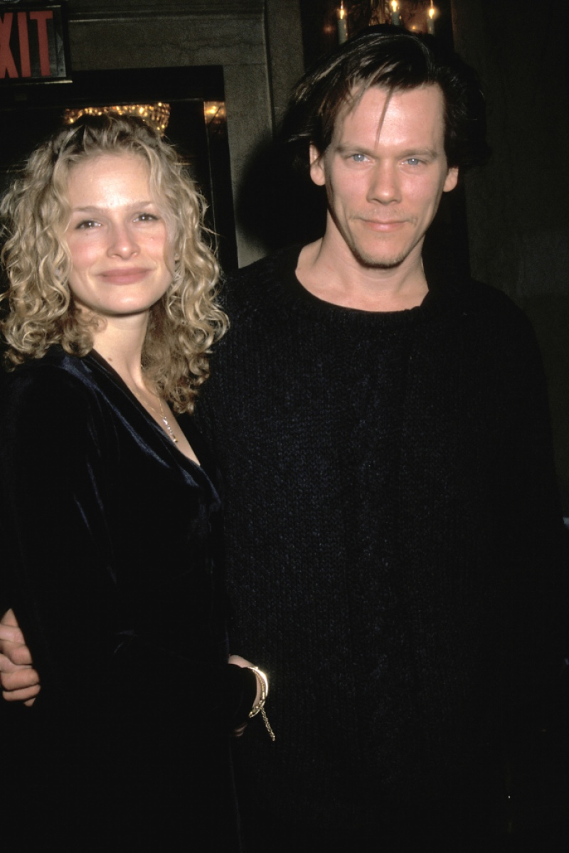"Kyra Sedgwick and Kevin Bacon during New York Premiere Party for ""Balto"""