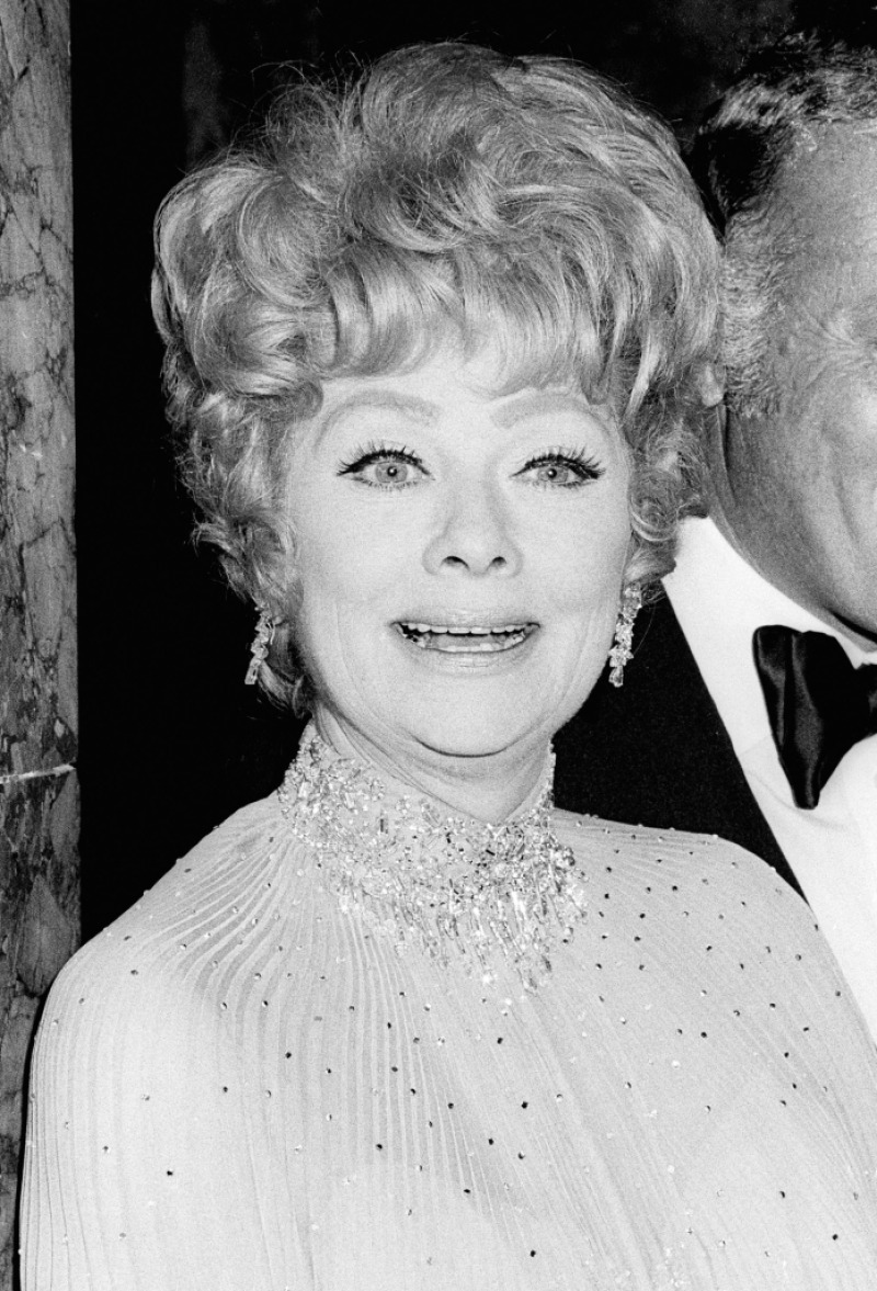 Lucille Ball attends the International Radio and TV Society Gold Medal Awards
