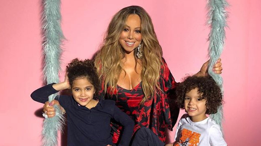 10 Cutest Pics Of Mariah Carey S Twins Roc And Roe Cannon