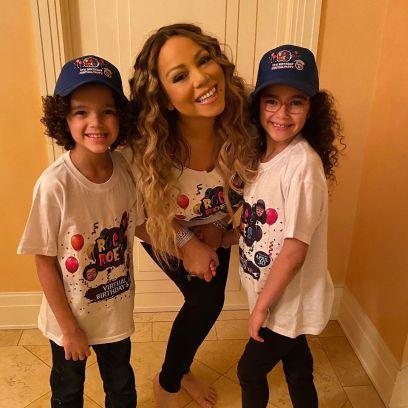 Mariah Carey and her kids