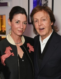 "Mary McCartney (L) and Sir Paul McCartney attend a cast and crew screening of ""This Beautiful Fantastic"""