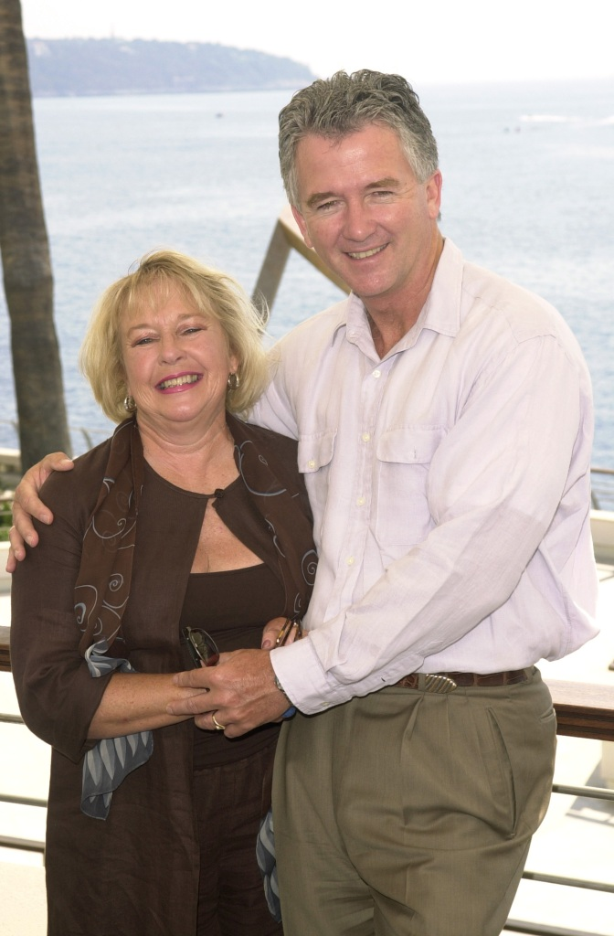 Patrick Duffy and wife Carlyn at the Grimaldi Forum in Monte-Carlo,