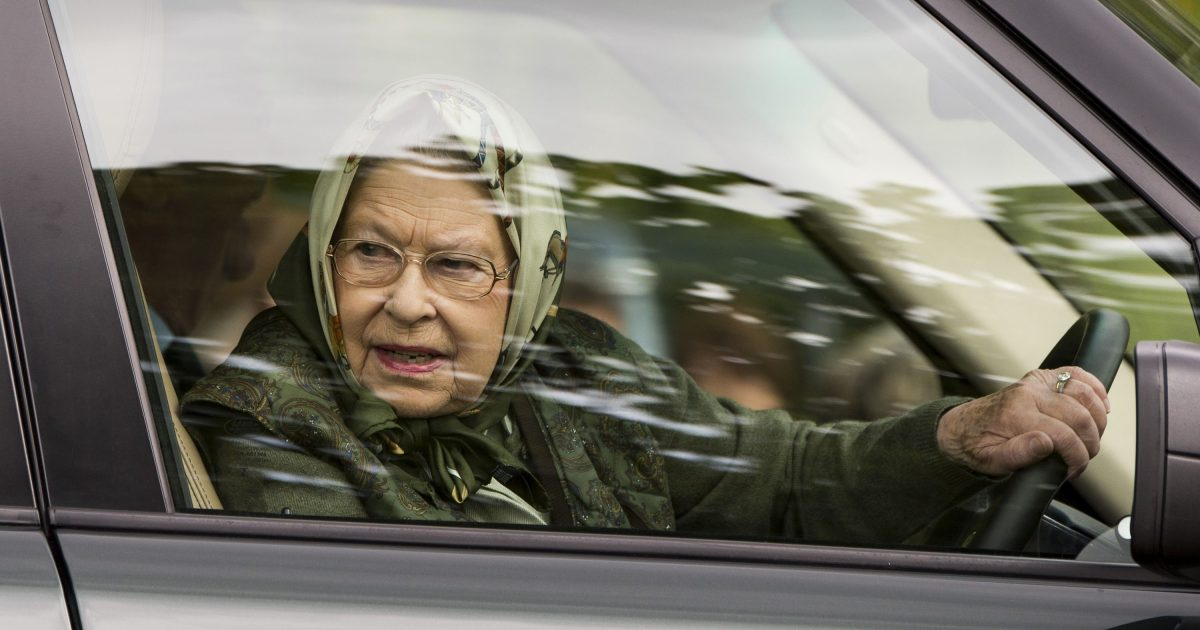 Queen Elizabeth Will Drive Only On Private Estates Not