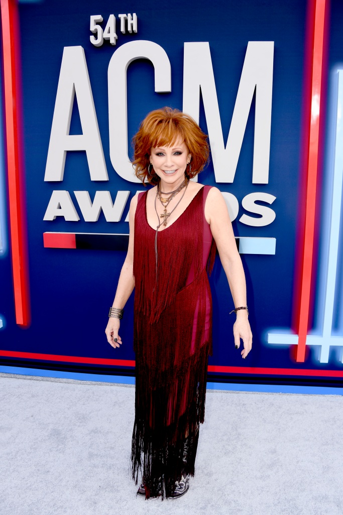 Reba McEntire attends the 54th Academy Of Country Music Awards at MGM Grand Hotel