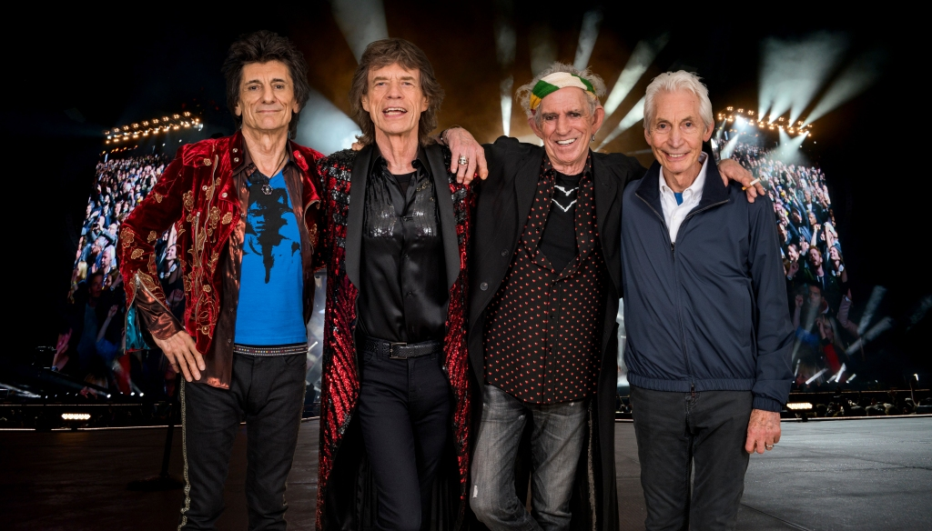 An exclusive image of The Rolling Stones taken on October 25th 2017 in Paris. In conjunction with the announcement of part two of the 'STONES - NO FILTER' tour