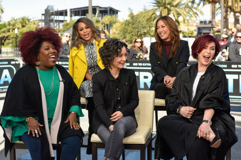 Sheryl Underwood, Eve, Sara Gilbert, Carrie Ann Inaba, and Sharon Osbourne