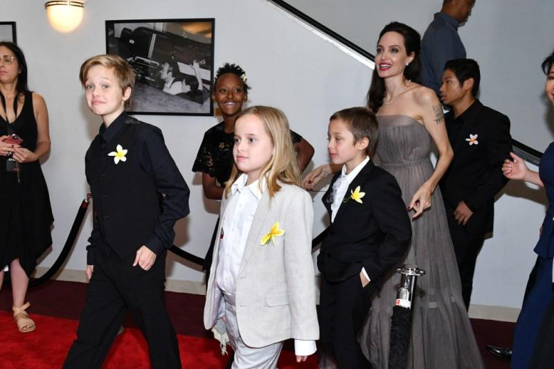 Shiloh Pitt Angelina Jolie