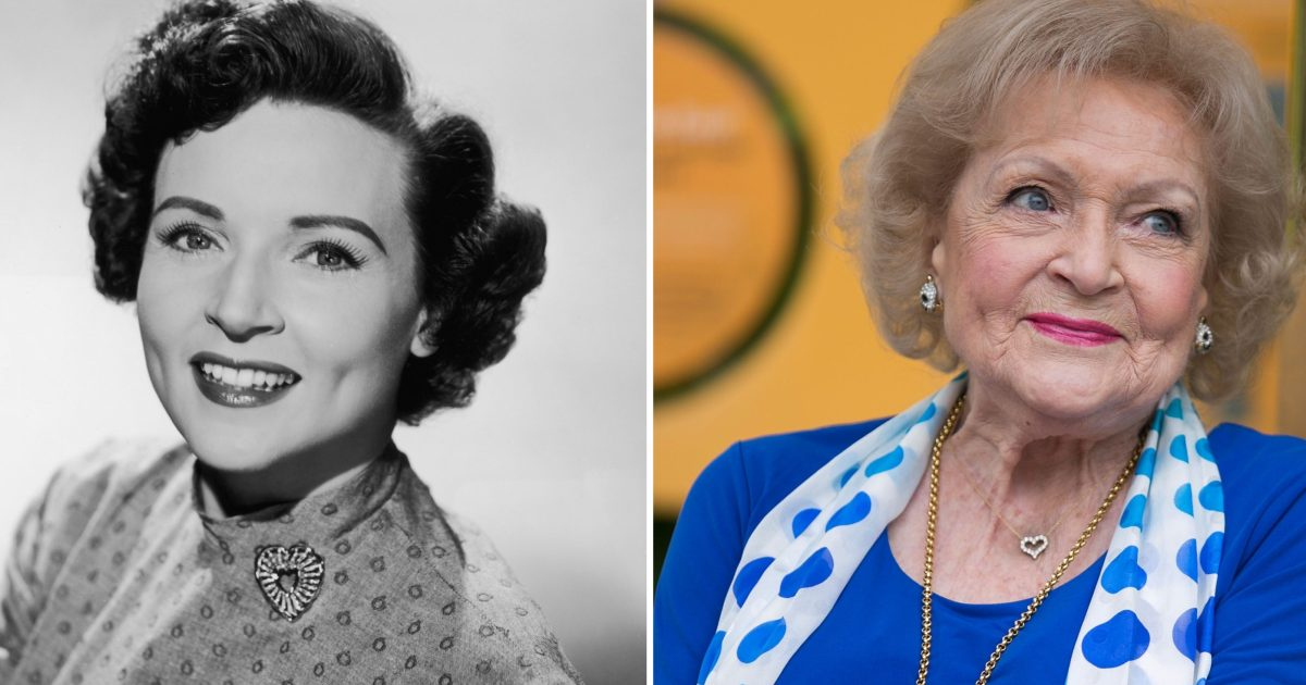 558d321af Betty White Then and Now: See the Hollywood Icon Through the Years!