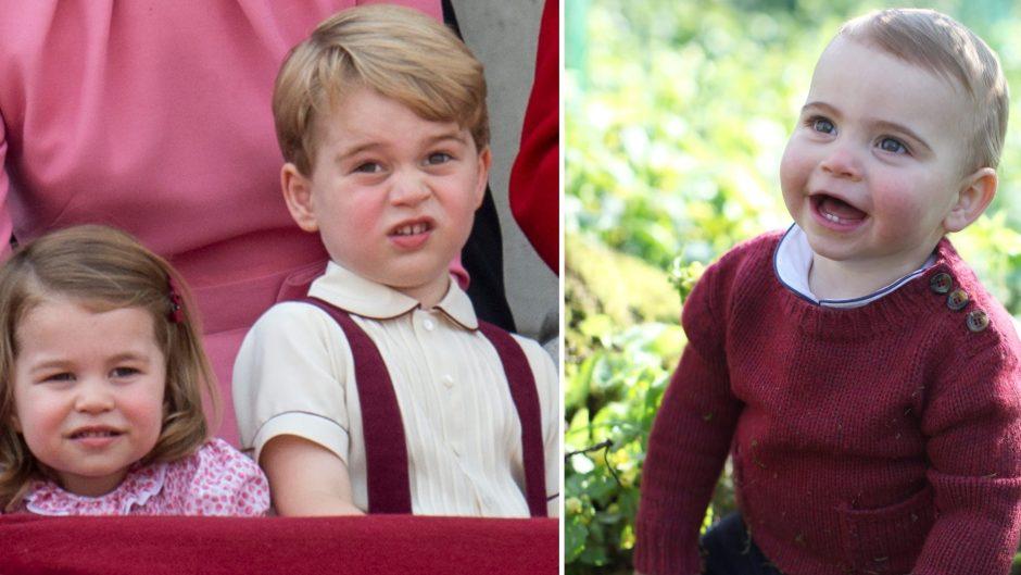 Princess Charlotte Prince George Prince Louis
