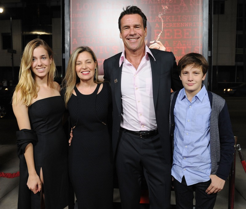 David James Elliott-family