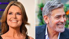George Clooney Savannah Guthrie
