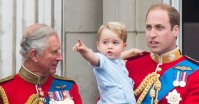 Prince George and Prince Charles