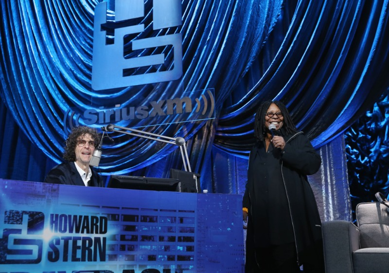 Howard Stern whoopi goldberg