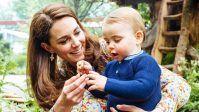 New Pics!Kate Middleton and Prince William Show George, Charlotte and Louis Mom's Garden