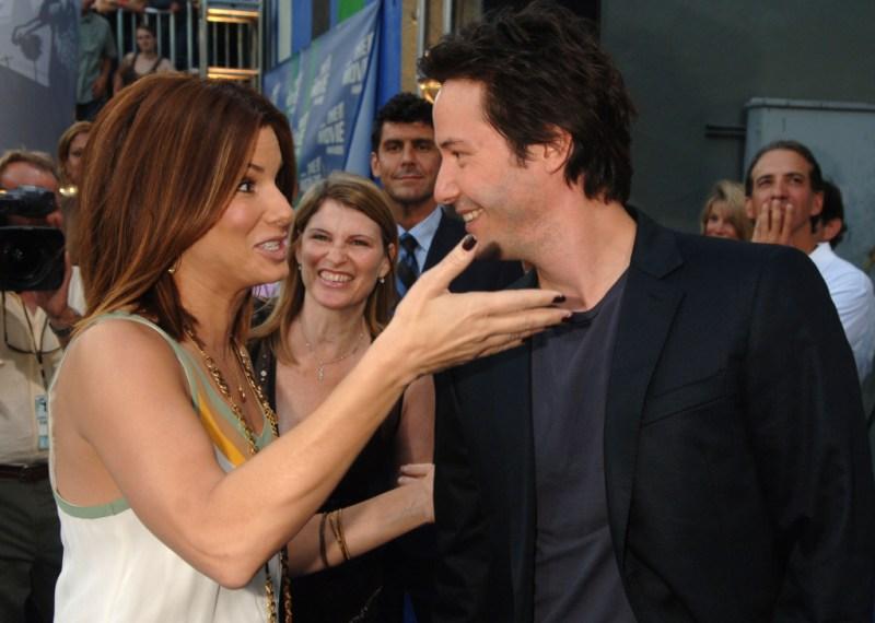 Keanu Reeves Sandra Bullock