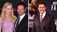 Nicole Kidman Hugh Jackman Tom Cruise
