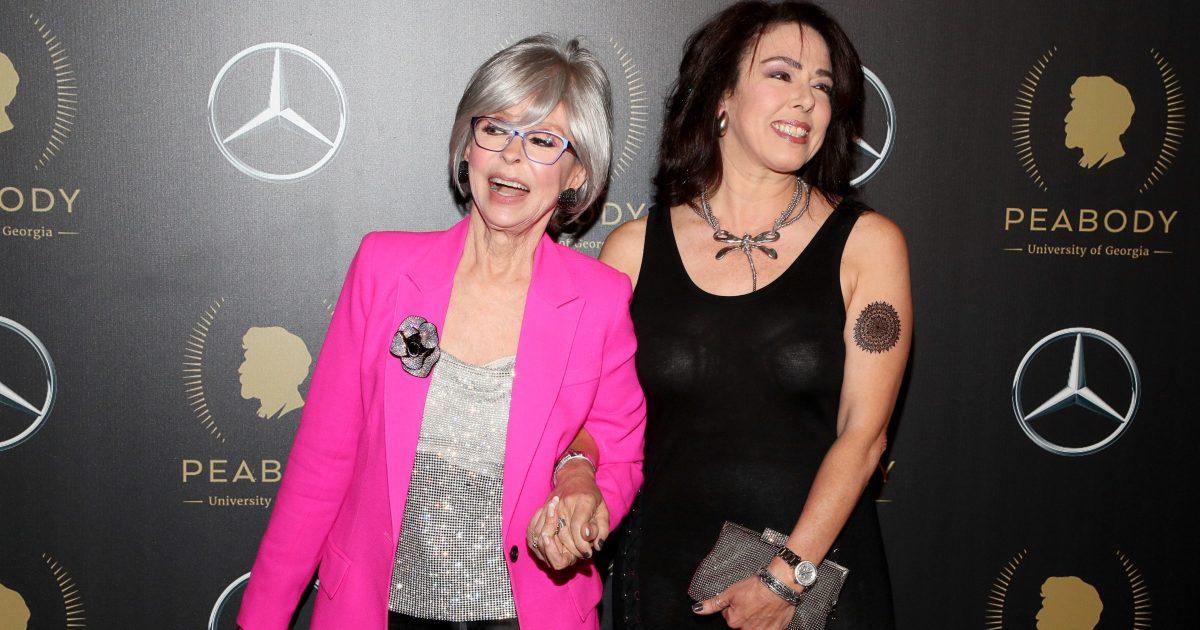 Rita Moreno And Daughter At Peabody Awards As Actress Is
