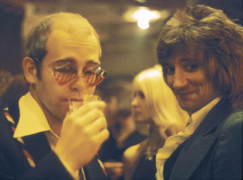 Elton John Rod Stewart