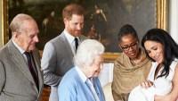 Royal Baby Prince Harry Meghan Markle Archie Harrison Mountbatten Windsor Doria Ragland Queen Elizabeth Prince Charles