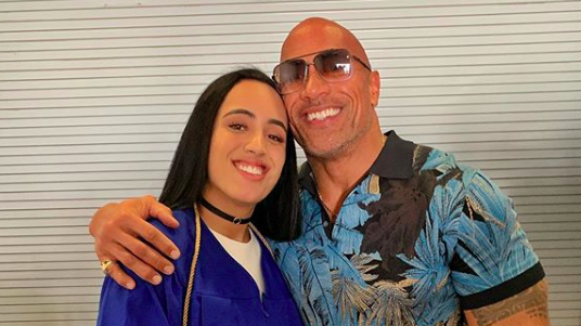Dwayne 'The Rock' Johnson Gushes Over Daughter Simone Graduating High School: 'Very Proud'