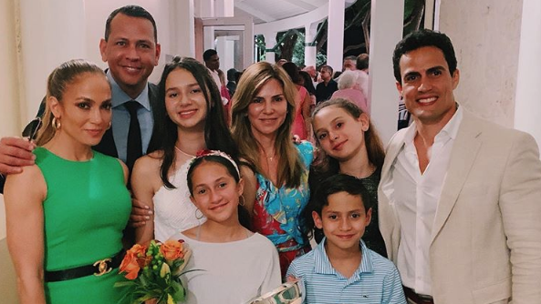 Alex Rodriguez's Oldest Daughter Natasha Graduates Middle