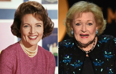 Betty White Then and Now