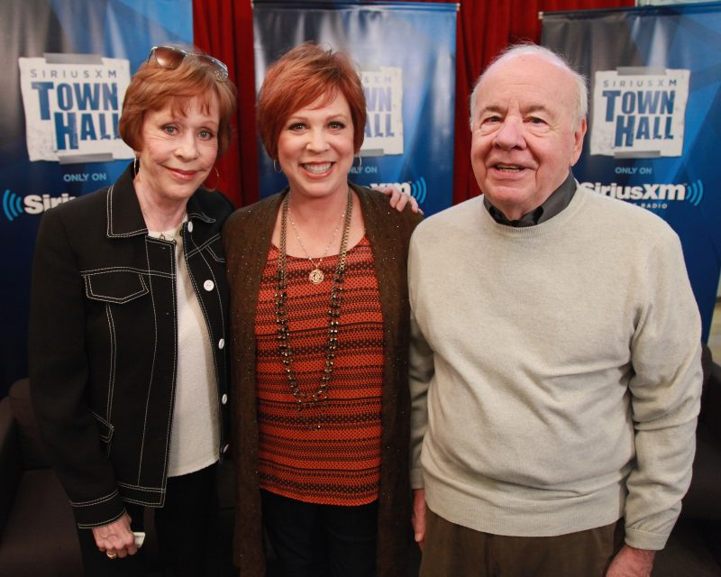 Carol Burnett, Vicki Lawrence, and Tim Conway in 2012