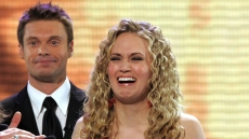 Carrie Underwood wins American Idol 2005