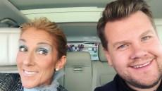Celine Dion Carpool Karaoke with James Corden
