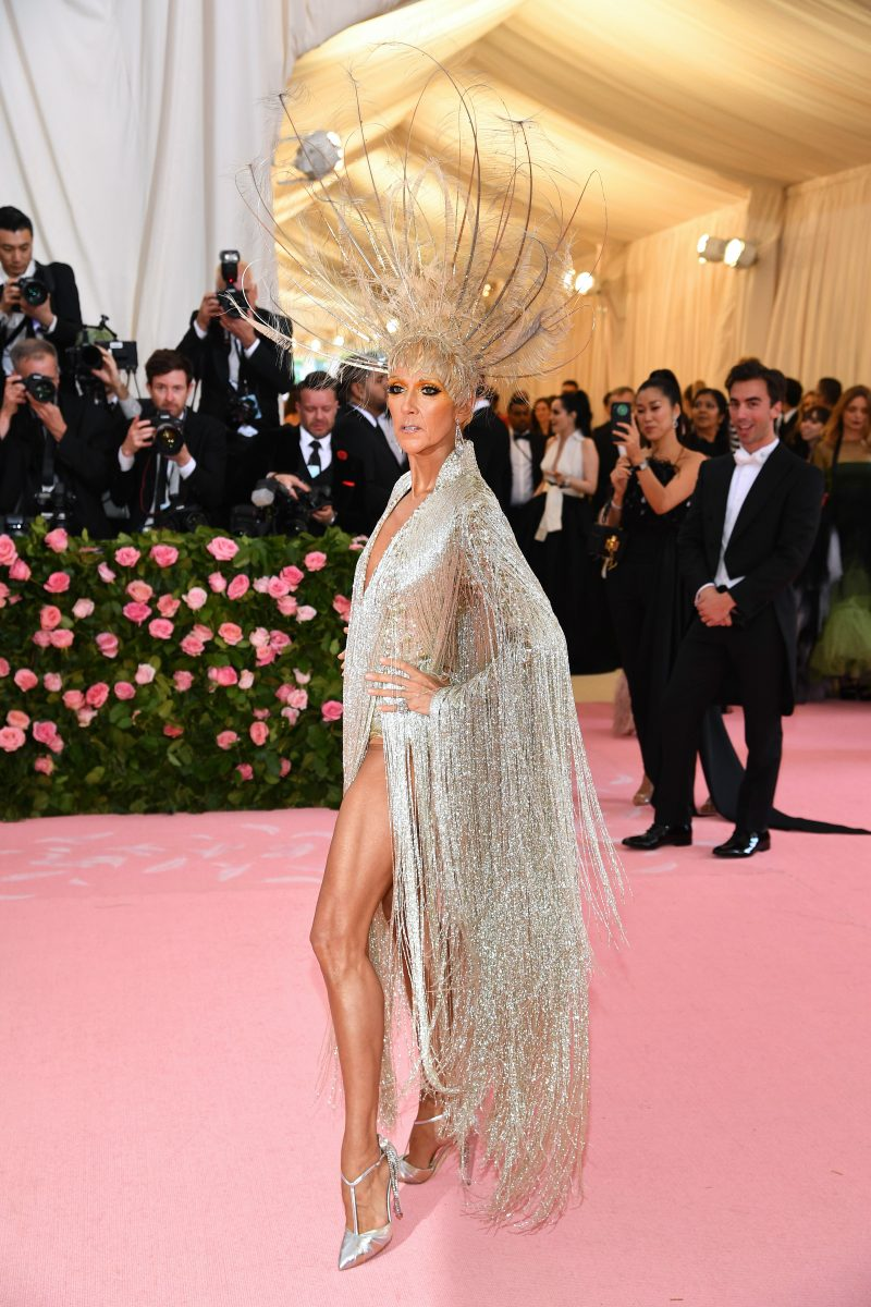 Celine Dion attends The 2019 Met Gala Celebrating Camp: Notes on Fashion at Metropolitan Museum of Art