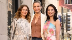 Drew Barrymore Cameron Diaz Lucy Liu Charlie's Angels Reunion