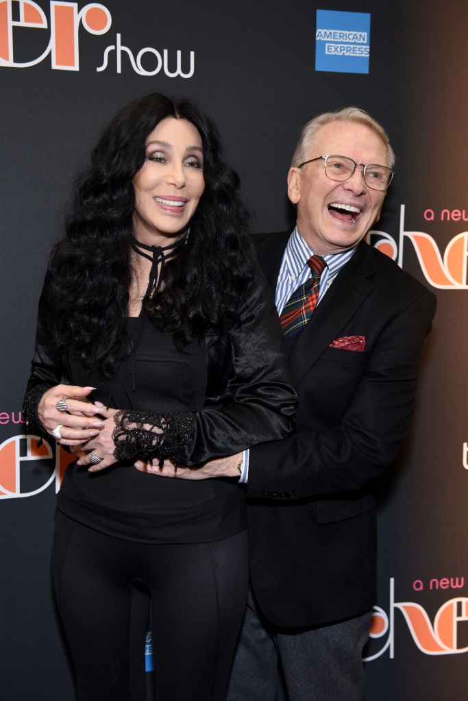 """Cher and Bob Mackie arrive at """"The Cher Show"""" Broadway Opening Night"""