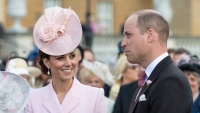 Kate Middleton Looks Beautiful in Blush at Queen Elizabeth's Garden Party — Take a Look!