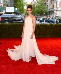 Katie Holmes attends the Met Gala in 2013