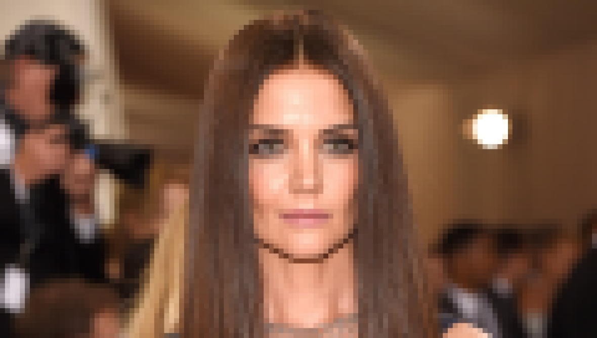 Katie Holmes attends the Met Gala in