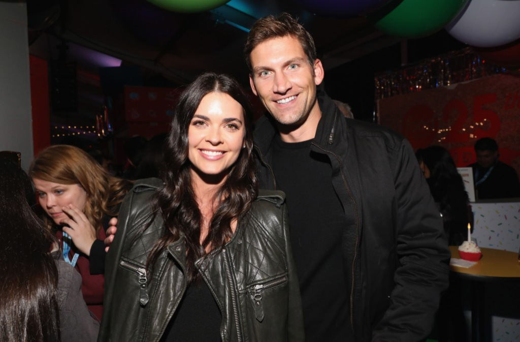 Katie Lee and Ryan Biegel attend Food Network's 25th Birthday Party Celebration