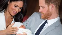 Meghan Markle Prince Harry Baby Son Name Archie