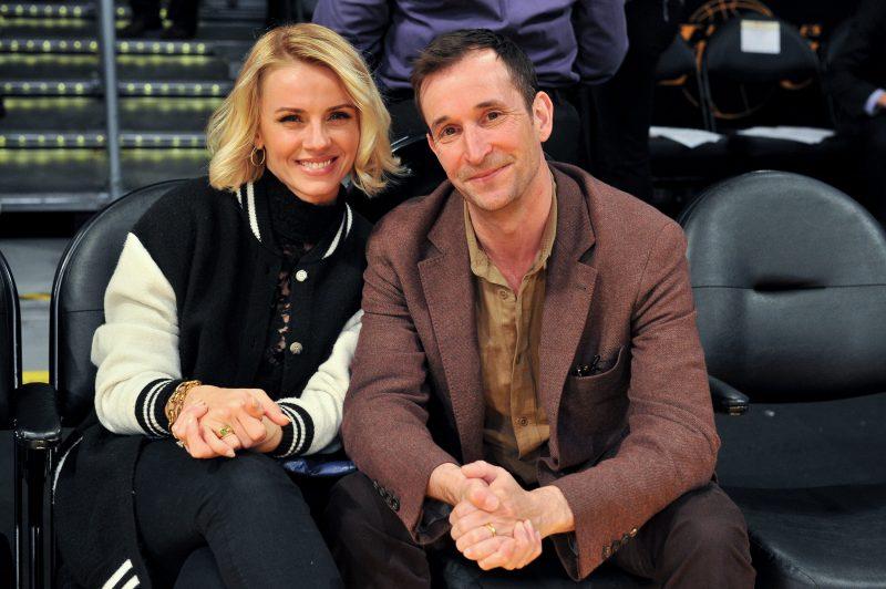 Noah Wyle and Sarah Wells