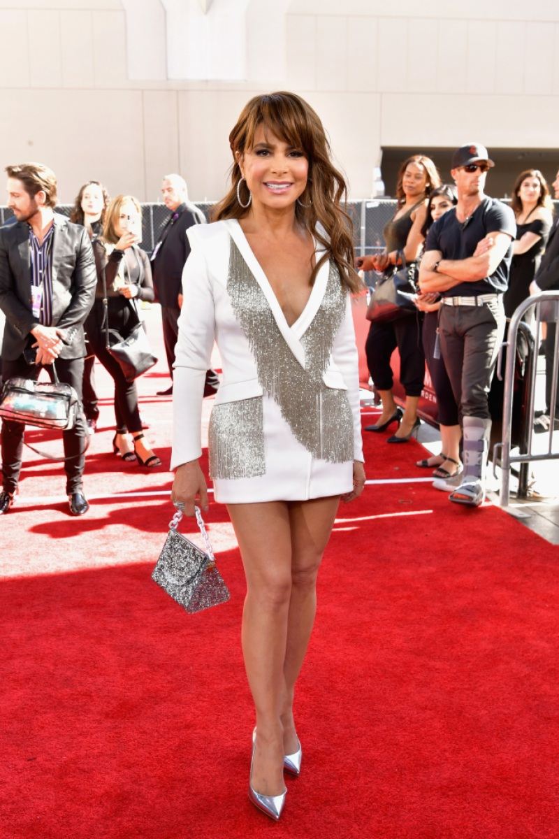 Paula Abdul attends the 2019 Billboard Music Awards