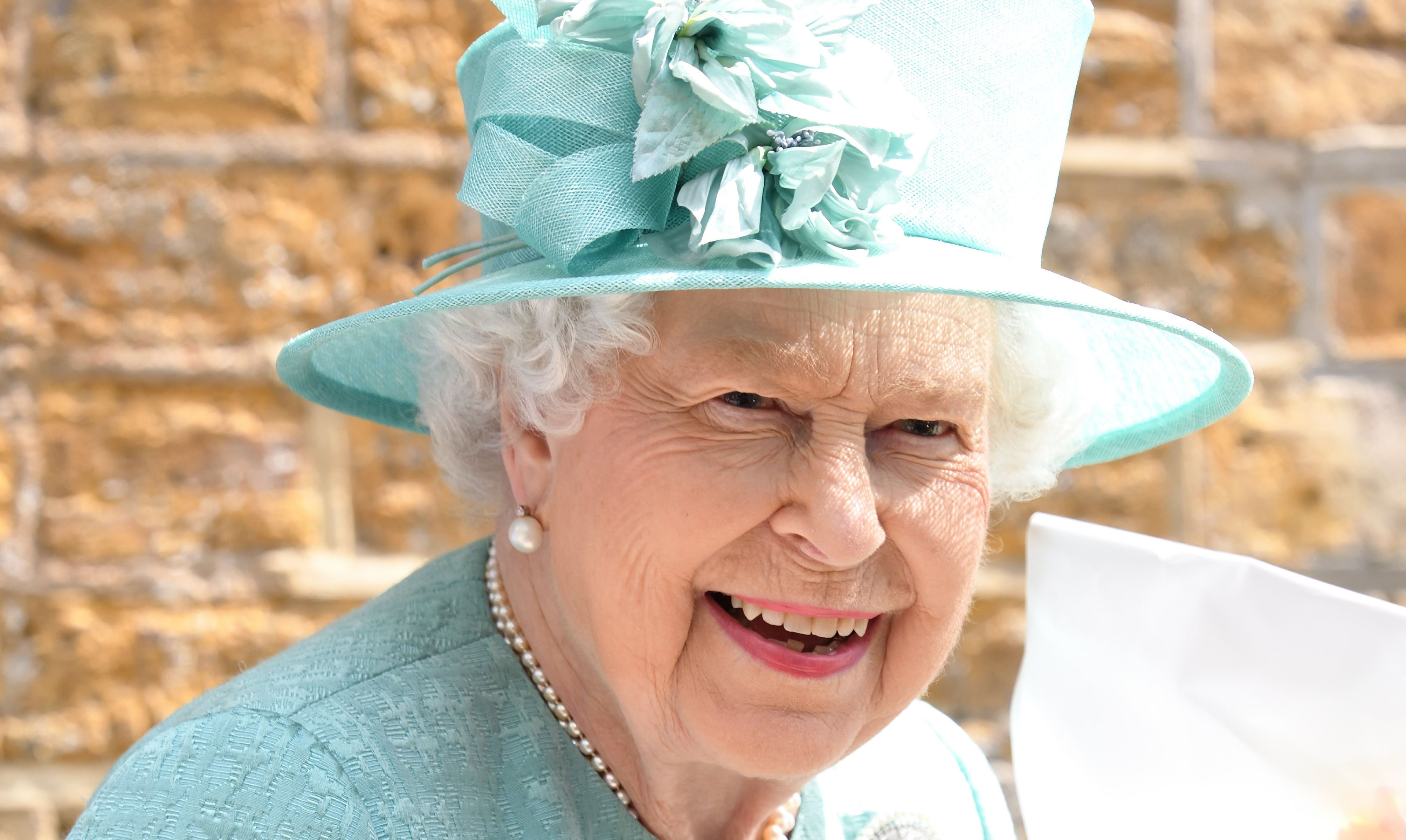 Queen Elizabeth Goes Grocery Shopping at Sainsbury's Replica Store in London — See the Pics!
