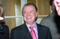 Regis Philbin is on hand for the Joe Torre Safe at Home Foun