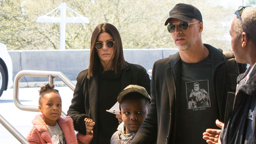 Sandra Bullock Is Mom to 2 Adopted Kids — Meet Louis and ...