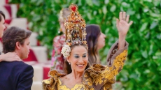Sarah Jessica Parker attends the Met Gala in