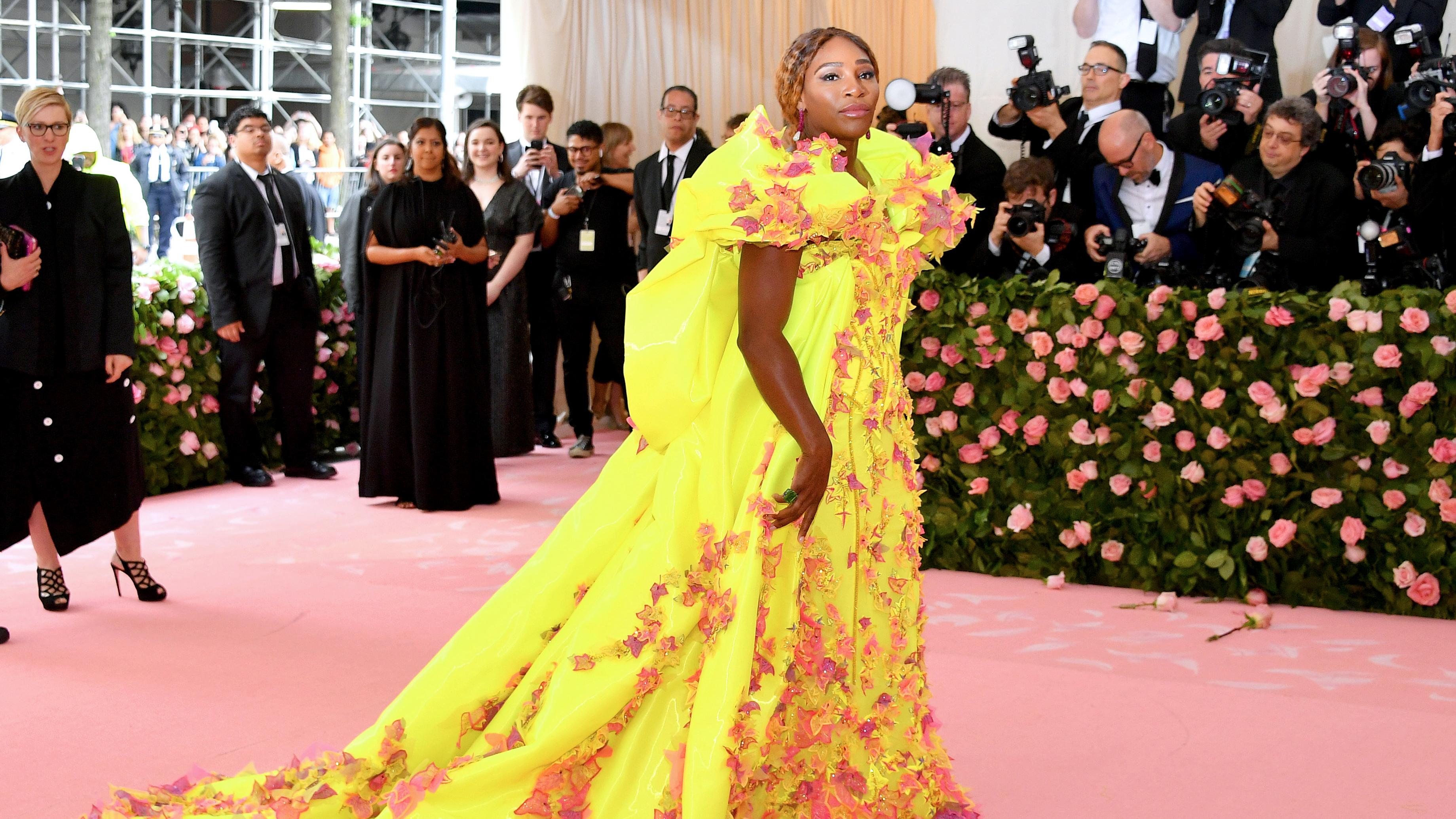 2019 Met Gala: Serena Williams Hits Red