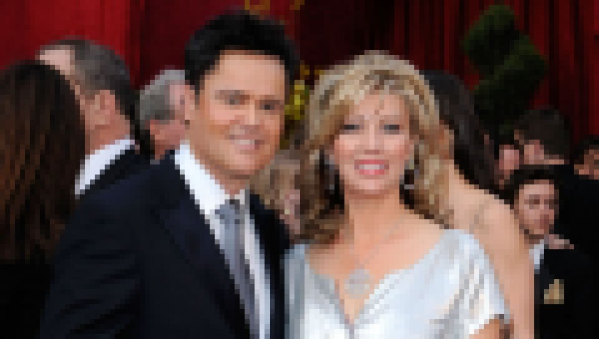 Donny Osmond and Debbie Osmond