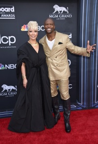 Rebecca King-Crews and Terry Crews attend the 2019 Billboard Music Awards